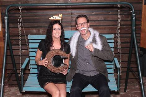 a bat mitavah photo booth photo by Maple Leaf Photo Booth rentals in Los Angeles