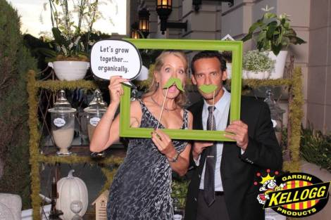 a photo booth photo at the EMA Awards 2016 at the Kellogg Garden Footprint. Photo taken by Maple Leaf Photo Booth rentals in Los Angeles