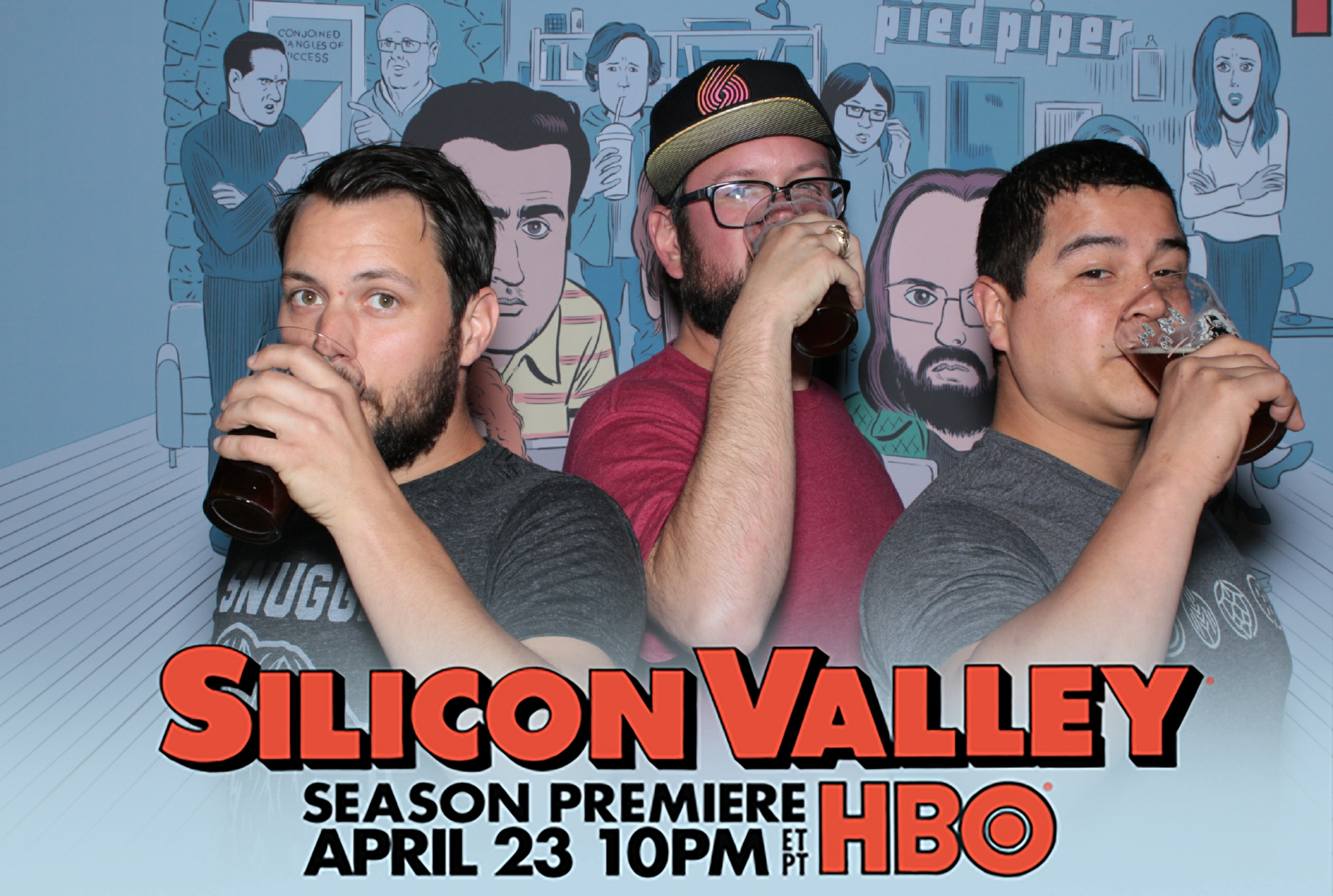 hbo silicon valley premiere photo booth austin texas