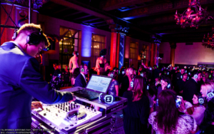 A photo of Kriger the Los Angeles wedding DJ