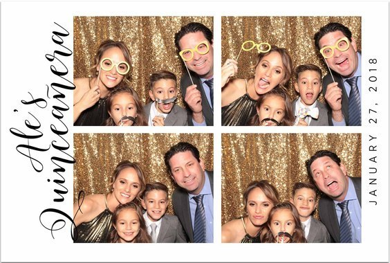 quincenera photo booth photo by photo booth rental hire company maple leaf photo booths in washington dc maryland virginia