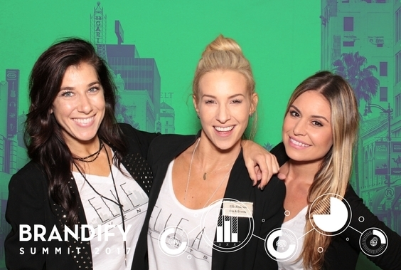 a green screen photo of photo booth rental chicago company maple leaf photo booths