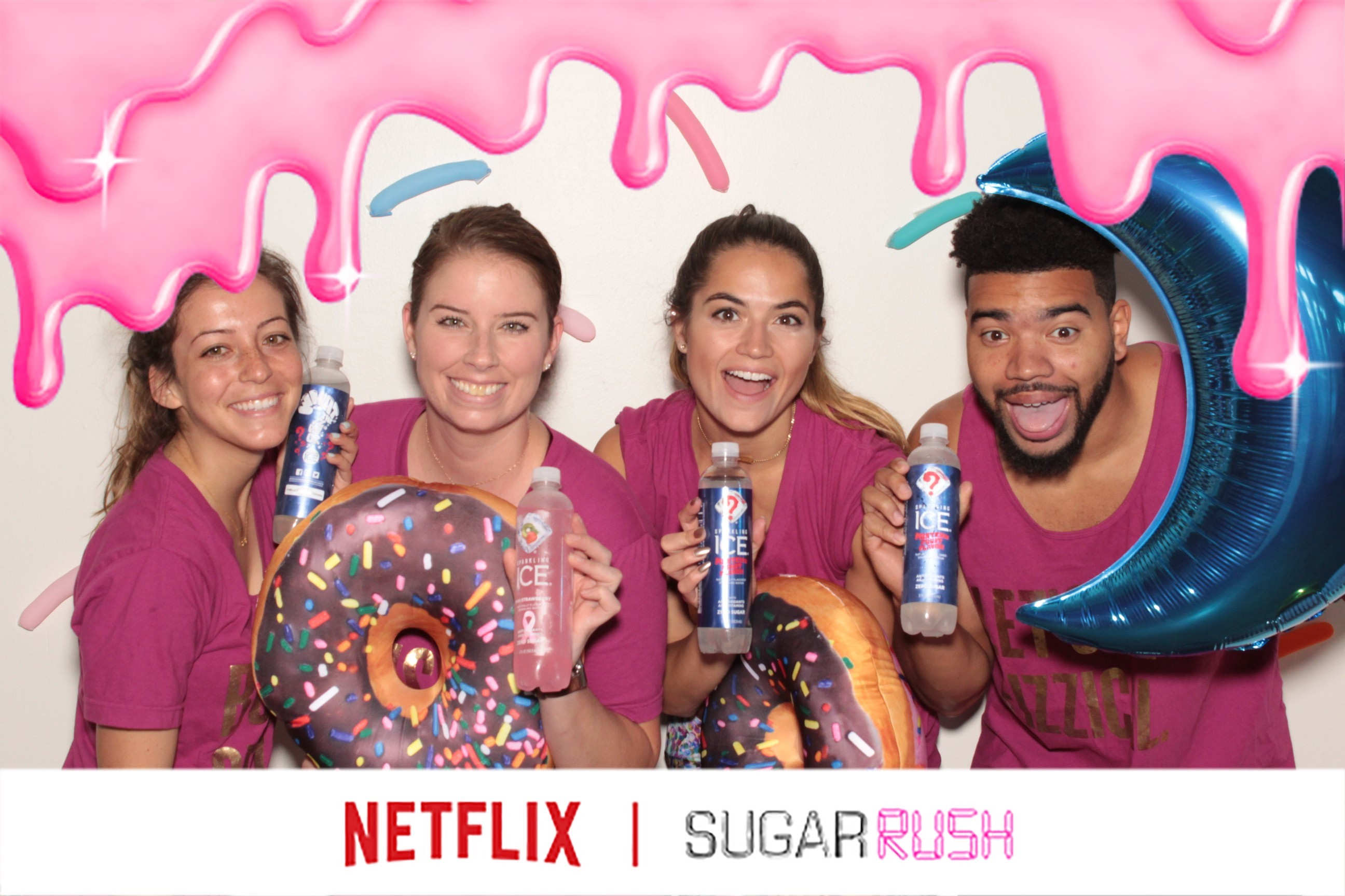 a photo booth photo from the netflix sugar rush photo gif booth by maple leaf photo booths
